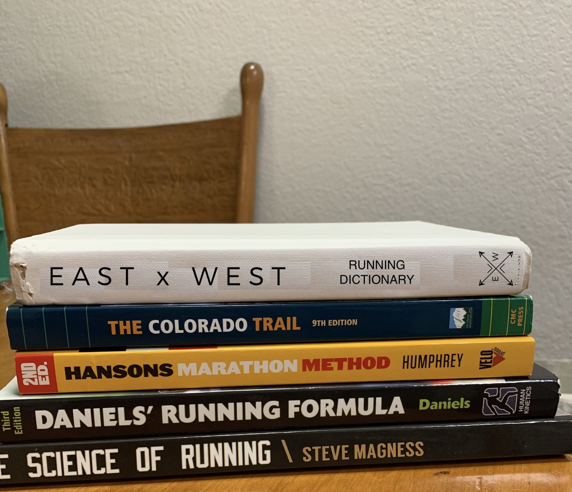 The East by West Distance Running Dictionary